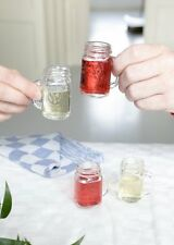 Kikkerland Mason Jar Shot Glasses, Set of 4 , New, Free Shipping