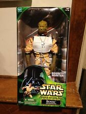 """Star Wars Action Collection Bossk w/Blaster Rifle 12""""  MISB 2000 Hasbro"""