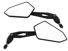 Black Excellent Quality Wing Mirrors To Fit Ducati Monster 620 695 E-marked