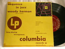 "WOODY HERMAN Sequence In Jazz Bill Harris Flip Phillips Red Norvo Columbia10"" LP"