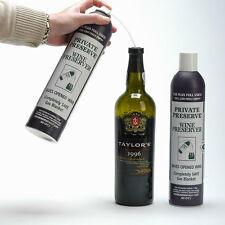 2 x Private Preserve Wine Saver Spray for wine, port, cognac & others alike