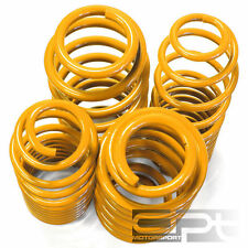 AUDI A4 B6 FRONT WHEEL DRIVE ONLY YELLOW SUSPENSION COIL RACE LOWERING SPRINGS