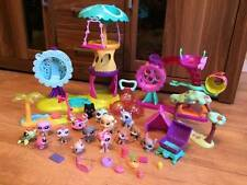 Littlest Pet Shop Lps Playground Set Rotating treehouse 15 Figures