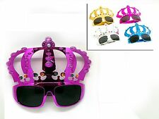 Novelty Crown Sunglasses Fancy Dress Stag Disco Hen Birthday Costume Party