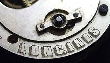 Longines clé vent montre de poche mouvement c1880 pour pièces ou réparations 44.26mm