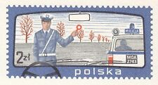 POLAND 1980 mint Postcard Cp#769 Police School Road, for 25 years, Piaseczno.