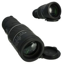 10x40 Dual Focus Optic Lens Day Night Vision Monocular Scope Telescope+Cap Black