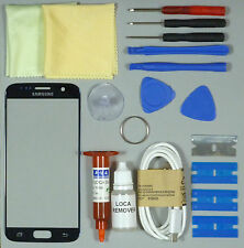 Samsung Galaxy S7 Front Glass Screen Replacement Repair Kit BLUE