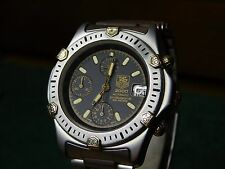 TAG Heuer Super 2000 165.306 Automatic Chronograph Stainless 18K Gold LWO 283