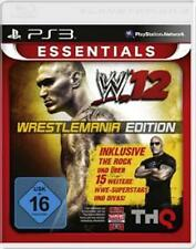 Playstation 3 WWE 12 Wrestlemania Edition Deutsch Neuwertig