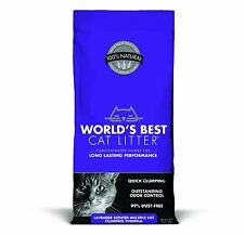 WORLD'S BEST CAT LITTER 391038 Multiple Cat Scented Clumping Formula, 28-Pound