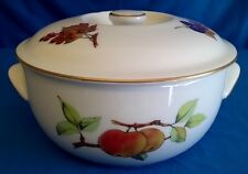 ROYAL WORCESTER EVESHAM GOLD PORCELAIN CASSEROLE OVEN TO TABLE BAKING DISH