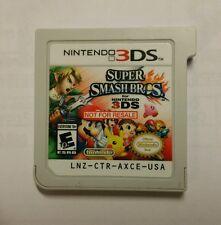 Super Smash Bros USA Nintendo 3DS Not For Resale Demo Kiosk Rare *FREE S/H*