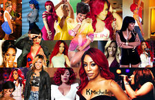 K. Michelle Collage Poster