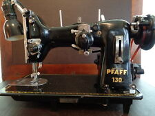 PFAFF SEWING MACHINE 130 W/RARE EMBROIDERY UNIT