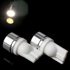 2pcs 1W T10 194 W5W 1-SMD LED Car Tail Wedge Light Lamp Bulb 12V Warm White TW
