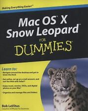 Mac OS X Snow Leopard For Dummies by LeVitus, Bob, Good Book