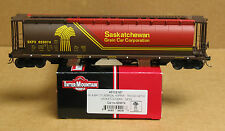 Intermountain 45122-59 HO Saskatchewan 4-bay cylindrical hopper SKPX #625355