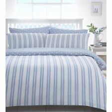 """TRURO""  DUVET SET  SUPER KING SIZE...SHADES OF BLUE/WHITE"
