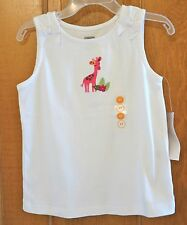 New ~ Gymboree Wild For Zebra Giraffe Top ~ Girl's 18-24 Month