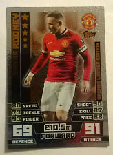 Match attax Wayne Rooney Bronze Limited Edition card LE3  Manchester United