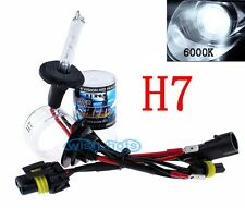 A Pair H7 6000K HID AC Blub Xenon Headlight Light FIT Audi A3 A4 A5 Q5 Q7 AM