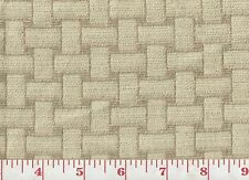 Textured Jacquard Upholstery Fabric fr Italy Clarence House Nola ~ Beige 34336-2