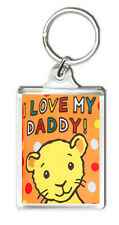 I LOVE MY DADDY FATHER`S DAY KEYRING GIFT LLAVERO
