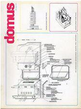 rivista ARCHITETTURA DOMUS ANNO 1973 NUMERO 525