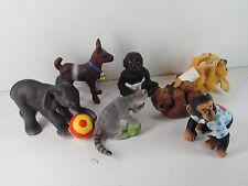 p128- Schleich 14451 ff -Spielende Tierkinder Sammlung / lot playing animal kids