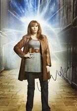 CATHERINE TATE Dr Doctor Who 'Donna Noble' Autograph Signed UACC & AFTAL DEALER