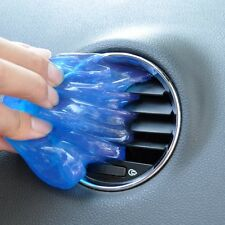 Blue Car Clean Glue Gel Cleaning Air Outlet Vent Dashboard Interior Cleaner Tool