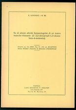 ALCUNE ATTIVITA FARMACOLOGICHE NUOVO MUSCOLO-RILASANTE (IL2,2-DIISOPROPIL) 1958