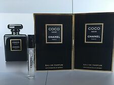 COCO NOIR BY CHANEL Eau de Parfum 3 Spray samples  0.05 FL.OZ. 1.5 ML