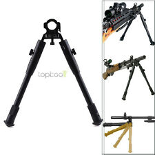 Tactical Gear Deluxe Foldable Clamp-on Low-profile Barrel Bipod for Rifle