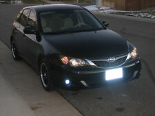 White LED Fog Lamps Driving Lights Set for 2008-2011 Subaru Impreza