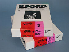 ILFORD X2 Ilfospeed RC Deluxe 13X18cm 5X7in Glossy Grade 3 B&W Paper 100 sheets