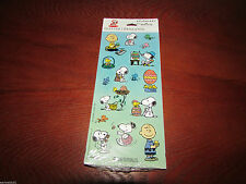 Peanuts Snoopy Hallmark Stickeroni Easter glitter stickers 4 Sheets of 16  NEW!
