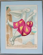 """Bather with Beach Ball"" Reproduction Print by Pablo Picasso 30"" x 24"" Framed"