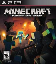 Minecraft Playstation 3 Edition (Playstation 3 PS3, NTSC, Video Game) Brand New