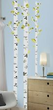 BIRCH TREES GiAnT Wall Decals Branches Leaves Room Decor Stickers White Nursery
