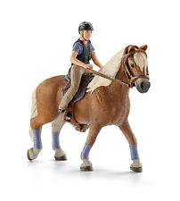 Schleich 42113 Leisure Rider and Model Horse Toy Figurine - NIP