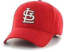 St Louis Cardinals Hat MLB Adjustable Fit Team Logo Velcro Mens Baseball Cap Red