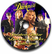 THE DARKNESS STYLE HARD ROCK GITARRE AUDIO PLAYBACK TITEL CD LIBRARY COLLECTION