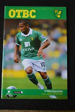 Norwich City Vs Milton Keynes Dons Aug 23rd 2011 carling cup 2nd round  (P94)
