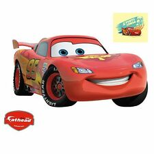 "26""x17.5"" Disney Pixar Cars Lightning Mcqueen Decal Fathead Vinly Wall Graphics"