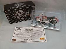 Harley Davidson Die Cast 1999 Fatboy 1:18 Metal Motorcycle NIB