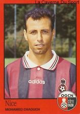 N°254 MOHAMED CHAOUCH # MOROCCO OGC.NICE STICKER FOOT 97 PANINI