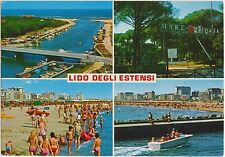 LIDO DEGLI ESTENSI - VEDUTINE - COMACCHIO (FERRARA) 1995 - COMMEMORATIVO ISOLATO