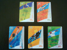 2000 SYDNEY PARALYMPIC GAMES - USED - Set of 5 P&S Stamps - 2 x 45c + 3 x 49c
